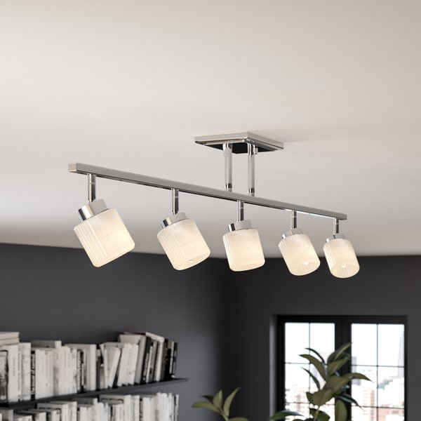 Wade Logan Moody 5- Light Track Lighting Kit & Reviews | Wayfair