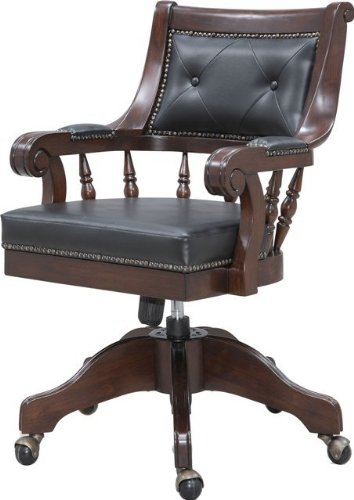 Amazon.com: Coaster 800145 Traditional Office Chair: Kitchen & Dining