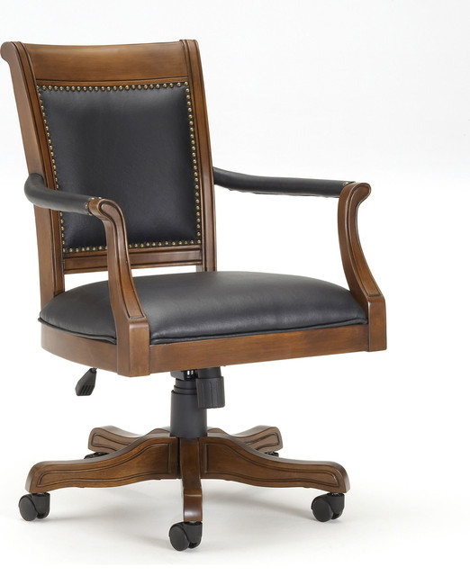 Kingston Office Chair - Traditional - Office Chairs - by HedgeApple