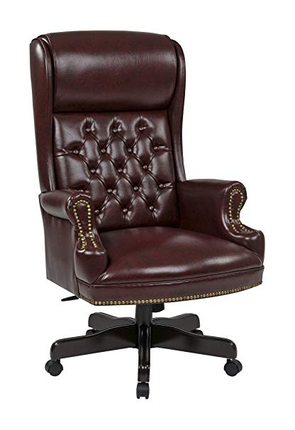 A closer look at traditional   office chair