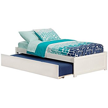 Amazon.com: Concord Bed with Flat Panel Foot Board and Trundle Bed
