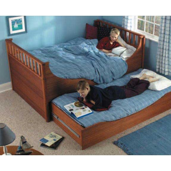 Woodworker's Journal Trundle Bed Plan | Rockler Woodworking and Hardware