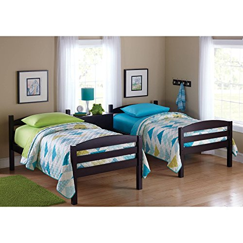 Amazon.com: Easy-to-Convert to Twin Bed Practical Space Saver Wood