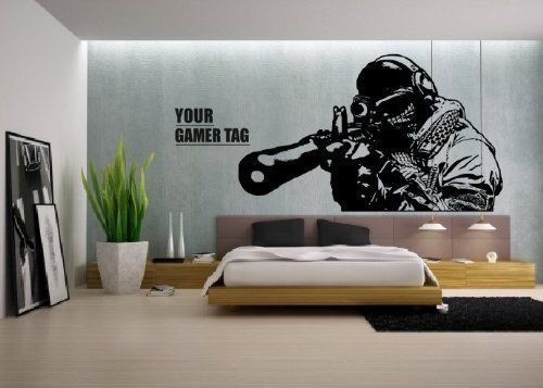 cool gaming bedroom ideas - Google Search | bedroom ideas