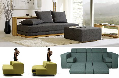 Have unique sofa beds for   space and convenience