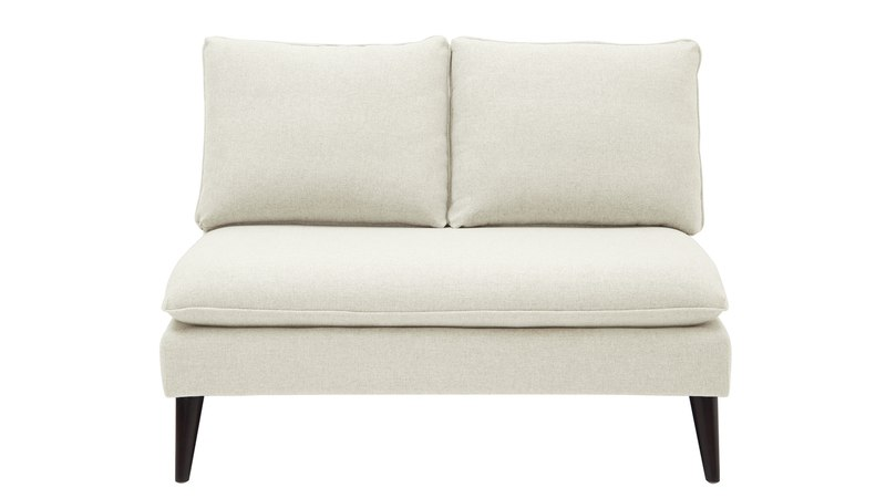 Vera Upholstered Loveseat, Sky Neutral - Jennifer Taylor Home