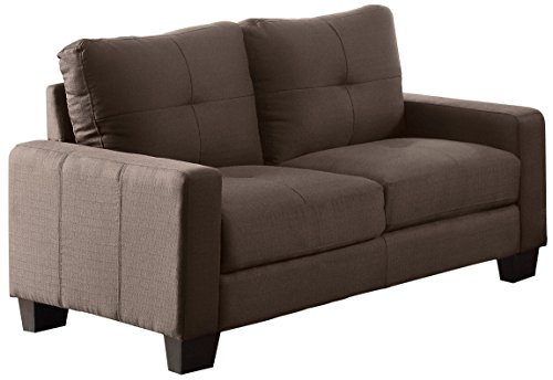 Amazon.com: Homelegance 8518-2 Upholstered Loveseat, Brownish Grey