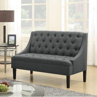 Upholstered Loveseat Bench | Wayfair