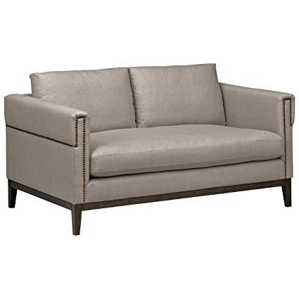 Amazon.com: Stone & Beam Westport Modern Nailhead Upholstered