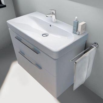 Geberit Smyle 45cm Vanity Unit & Basin : UK Bathrooms