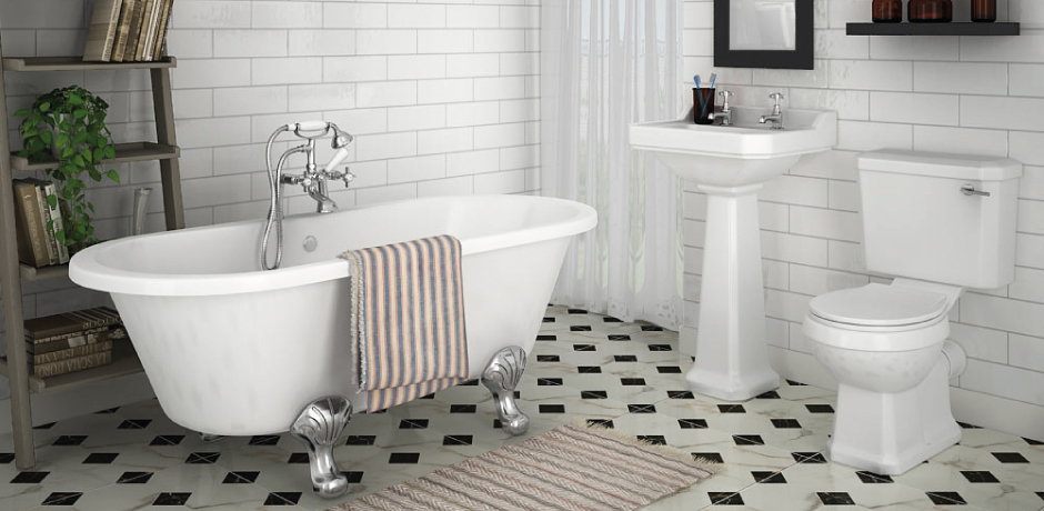 7 Traditional Bathroom Ideas | Victorian Plumbing