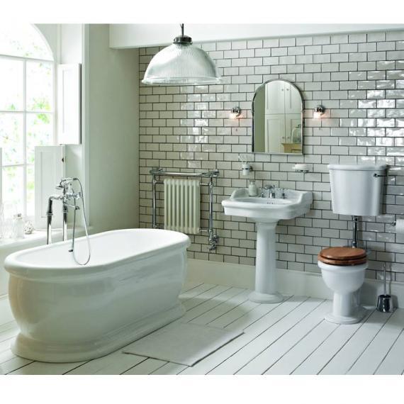Heritage Victoria Low Level Bathroom Suite | Victorian Bathrooms 4 U