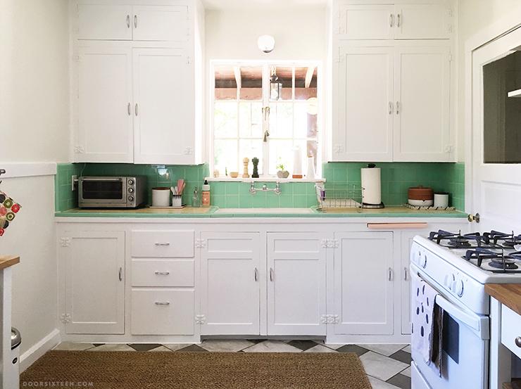 Updating a vintage kitchen with IKEA! | Door Sixteen