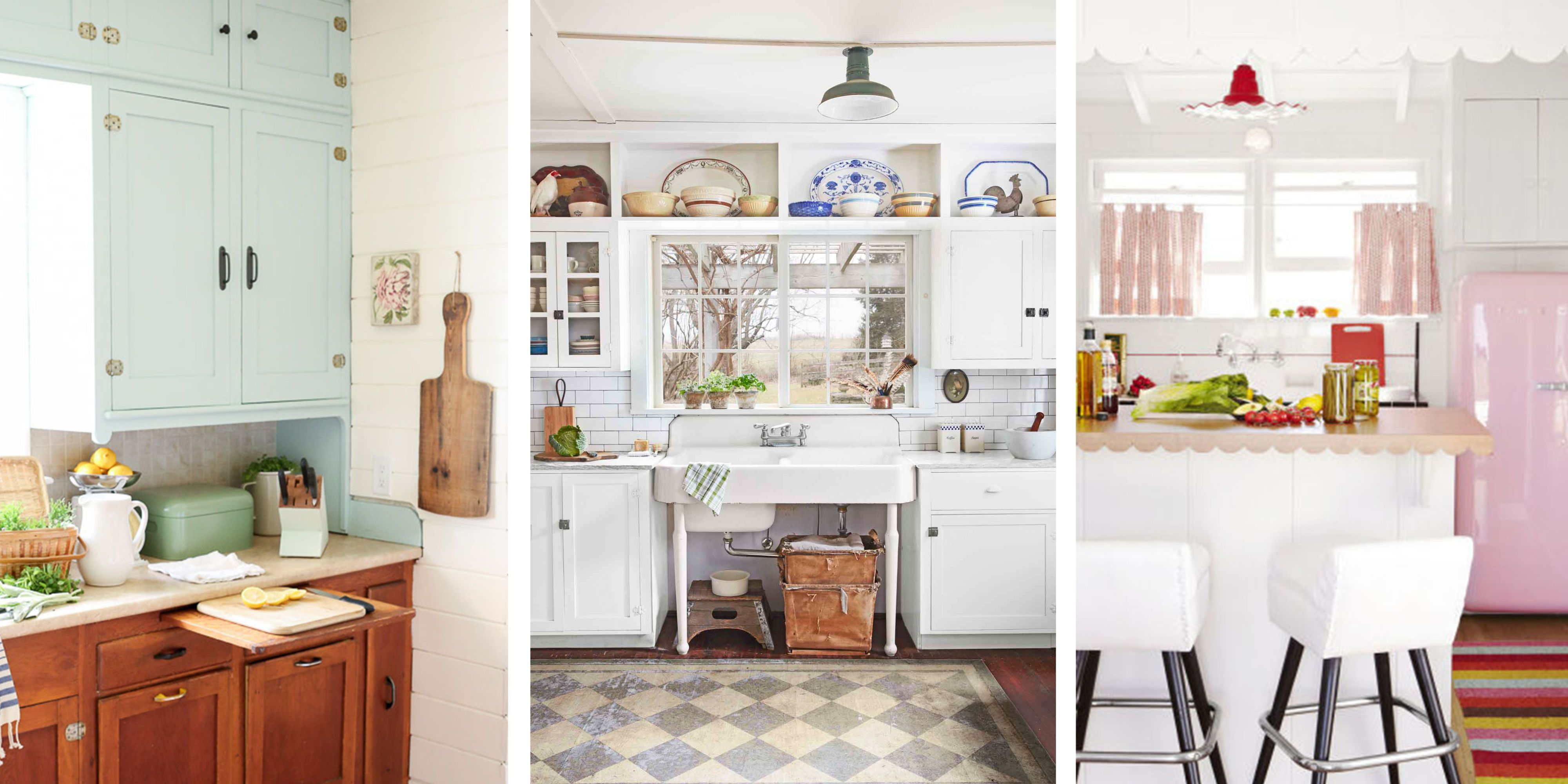 4 Ways to Add Charm to Your   Vintage Kitchen