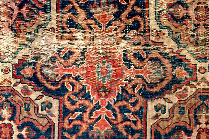 Independence Vintage Goods 19th Persian Rug Vintage - Made in USA