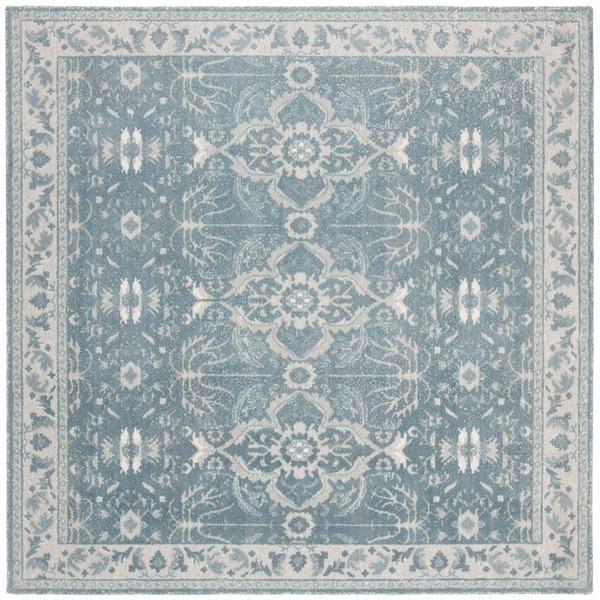 Shop Safavieh Handmade Restoration Vintage Vintage Blue Wool Rug - 6