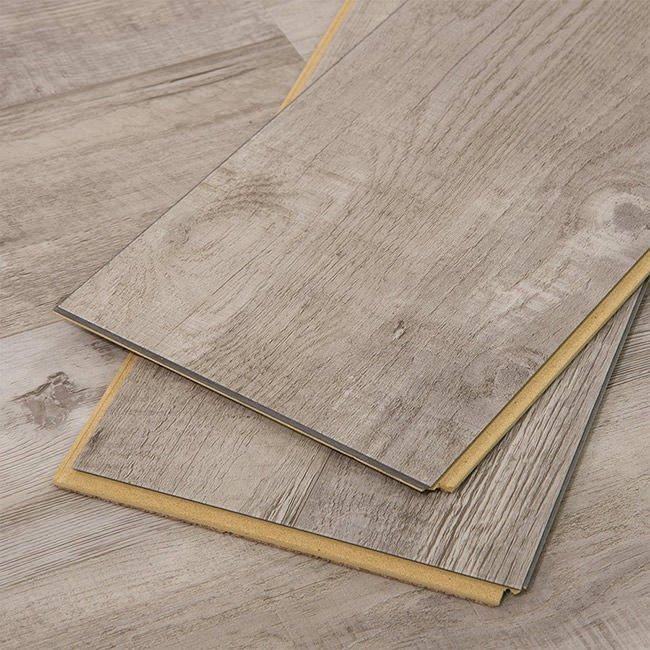 Vinyl Flooring Planks - Gray Ash Wide+ - Cali Bamboo