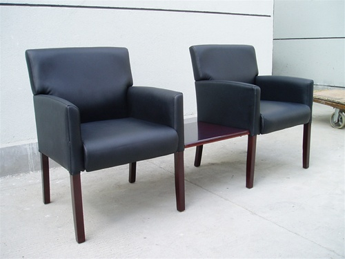 Boss Waiting Room Chairs B629 @ Office Chairs Outlet