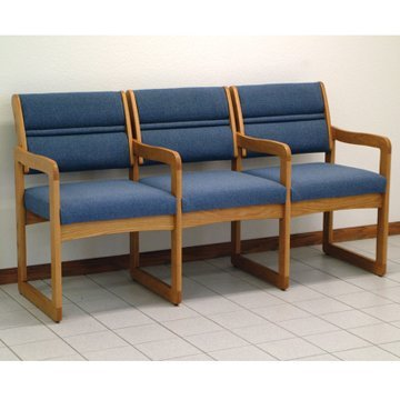 Amazon.com : DMD Waiting Room Chairs, Three Seat Set for Office and
