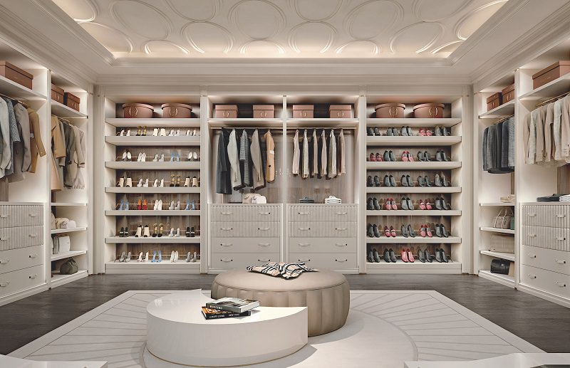 Walk-In Closet Design u2013 Ellipse by Francesco Pasi | Archi-living.com