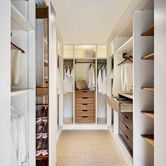 Top tips for a walk-in wardrobe project | Ideal Home
