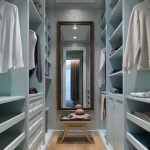 Walk in closet is solution for   more space and luxury