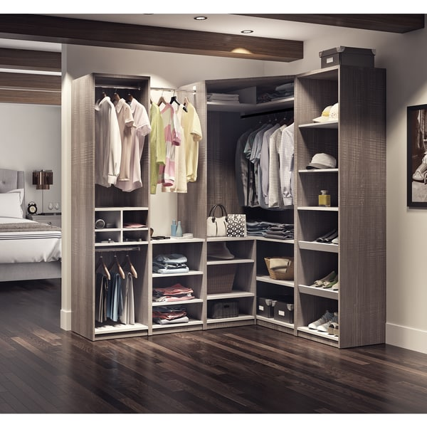 Shop Cielo by Bestar Classic Corner Walk-In Closet - Free Shipping