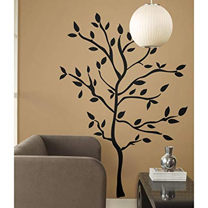 RoomMates Tree Branches Peel and Stick Wall Decals - Wall Decor