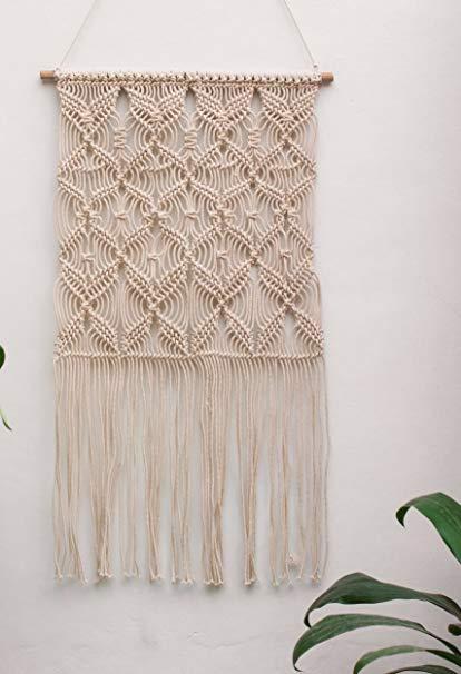 Amazon.com: Handmade Macrame Wall Hanging- Woven Wall Art- Macrame
