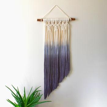 Ombre Dip Dye Macrame Wall Hanging - Mon Pote