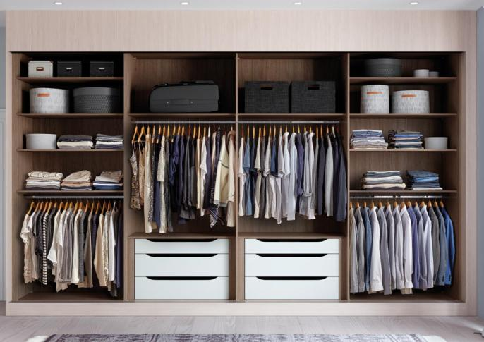 Wardrobe Interiors | Premium, Aluminium & Front Frame | Hammonds