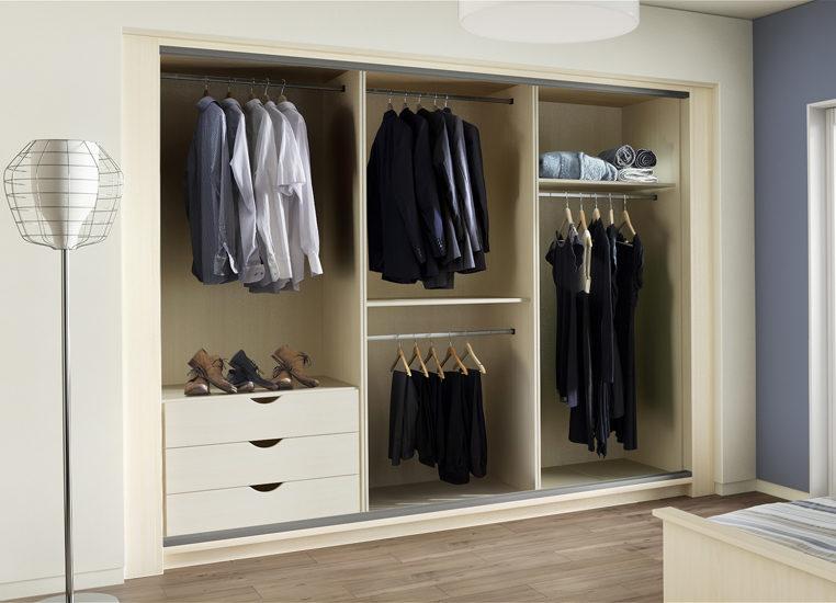 Sliding Wardrobe Interiors   Bedroom Furniture   Starplan