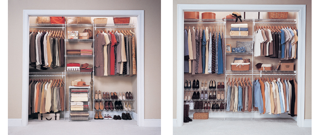 Organise My Home - ClosetMaid Gallery, wardrobe interior solutions