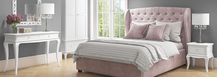 White Bedroom Collections   Furniture 123