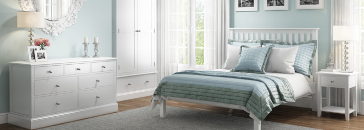 White Bedroom Collections | Furniture 123