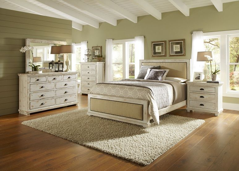 White Distressed Bedroom Furniture | HOME | Pinterest | Distressed