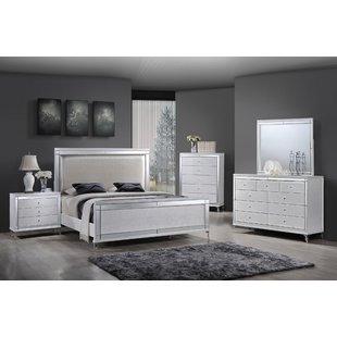 Panel 4 Piece Bedroom Set | Wayfair