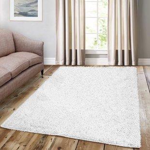 Soft White Rug | Wayfair