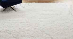 Cozy Plush Rug - White   west elm