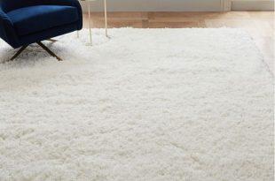 Cozy Plush Rug - White | west elm