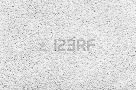 Carpet Texture. White Carpet Background Close Up. Stock Photo