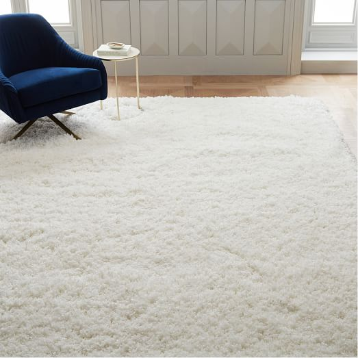 An overview of white carpet