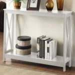 Advanced White console Table –   A Smooth Alternative for Your Living room