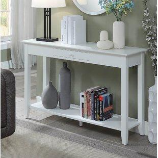 Narrow White Console Table | Wayfair