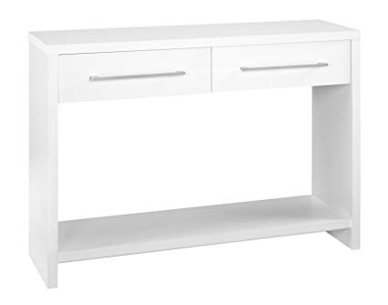 Amazon.com: ClosetMaid 1652 Console Table with 2 Storage Drawers