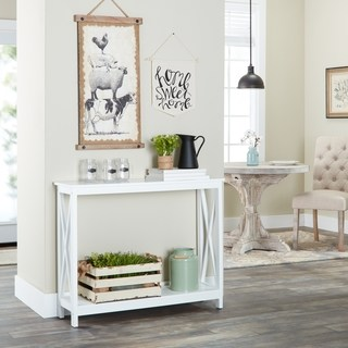Buy White, Console Tables Online at Overstock | Our Best Living Room