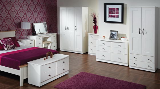 16 Beautiful and Elegant White Bedroom Furniture Ideas | Design Swan