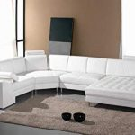 Guide for seating furniture –   white leather sectional sofas