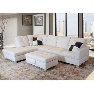 Ivory Sectional Sofa | Wayfair