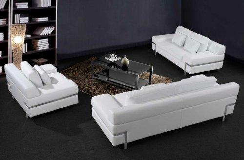 White Leather Sofas & Couches